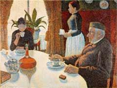 Das Frühstück von Paul Signac