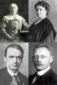 Key, Montessori, Steiner und Petersen